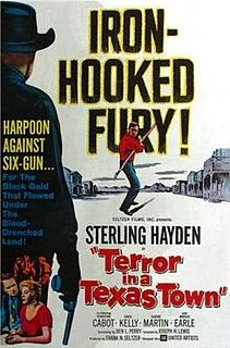 <i>Terror in a Texas Town</i> 1958 film by Joseph H. Lewis