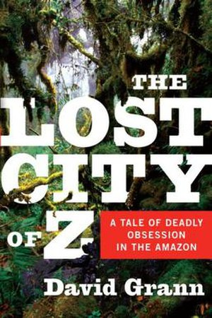 The Lost City of Z (book) - First edition cover design