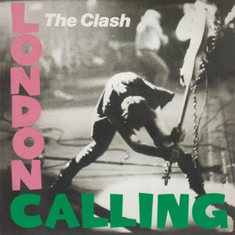"The Clash - The ""iconic"" cover of London Calling."