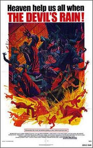 The Devil's Rain - Theatrical release poster