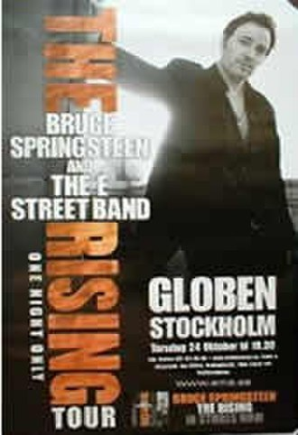The Rising Tour - Image: The Rising Tour Stockholm