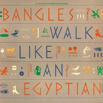Walk Like an Egyptian - Image: The Bangles Walk Like An Egyptian