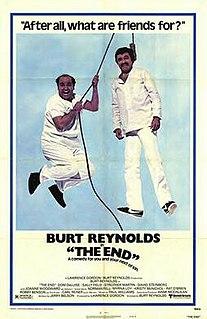 <i>The End</i> (1978 film) 1978 black comedy-buddy film directed by Burt Reynolds
