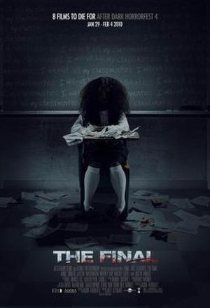 The Final (film) - Theatrical release poster