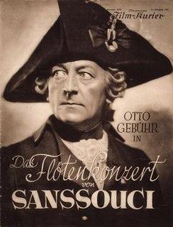 <i>The Flute Concert of Sanssouci</i> 1930 film