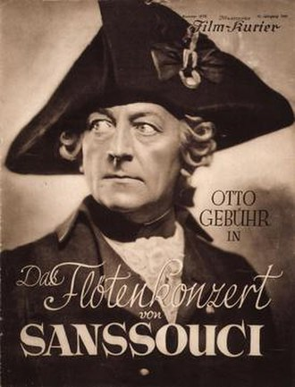 The Flute Concert of Sanssouci - Film poster