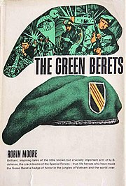 Cover for the 2007 reprint of The Green Berets.
