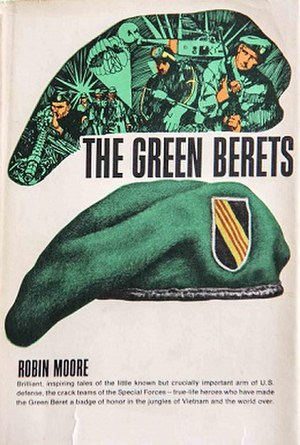 The Green Berets (book) - Cover for the 2007 reprint of The Green Berets