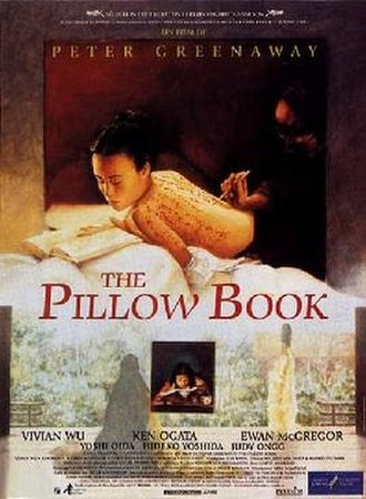The Pillow Book (film) - Theatrical release poster