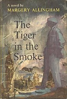 <i>The Tiger in the Smoke</i> novel by Margery Allingham
