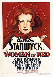 <i>The Woman in Red</i> (1935 film) 1935 American drama film