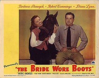 <i>The Bride Wore Boots</i> 1946 film by Irving Pichel
