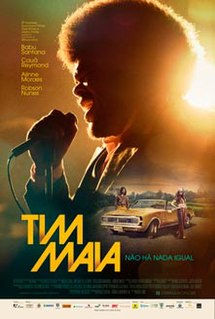 <i>Tim Maia</i> (film) 2014 directed film by Mauro Lima