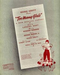 <i>Too Many Girls</i> (musical)