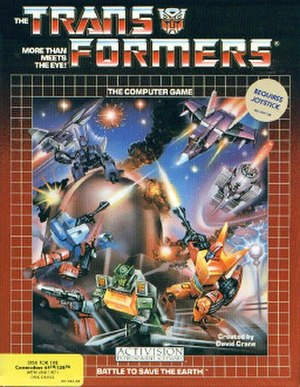 Transformers: The Battle to Save the Earth - Image: Transformers Commodore 64