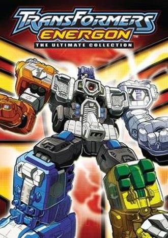 Transformers: Energon - Image: Transformers Energon DVD cover art