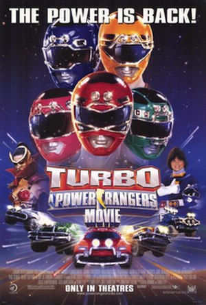 Turbo: A Power Rangers Movie - Theatrical release poster