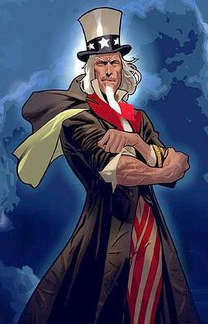 Uncle Sam (comics) - Image: Unclesam comics