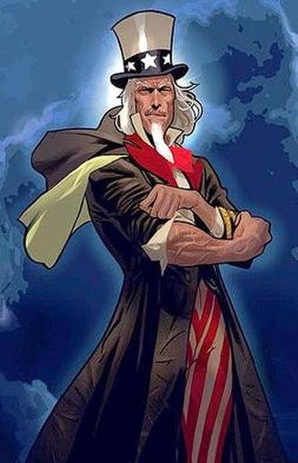 Uncle Sam (comics) - Image: Unclesam comics