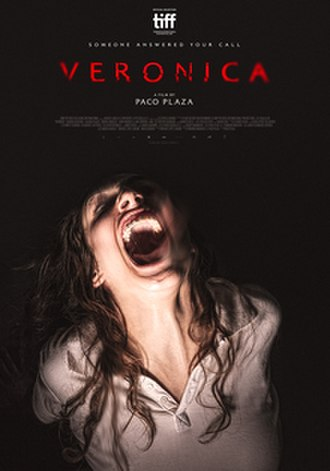 Verónica (2017 Spanish film) - Theatrical release poster