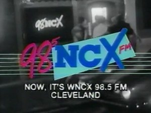 WNCX - TV ad promoting WNCX launch in 1986