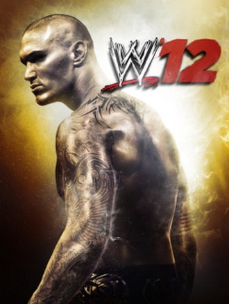 WWE '12 - Cover artwork featuring Randy Orton