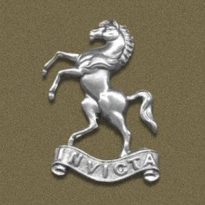 Queen's Own West Kent Yeomanry - Image: West Kent Yeomanry Badge