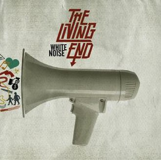 White Noise (The Living End album) - Image: Whitenoisealbumcover