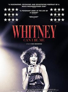 <i>Whitney: Can I Be Me</i> 2017 documentary film directed by Rudi Dolezal and Nick Broomfield