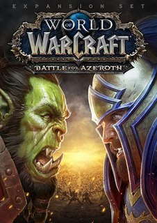 <i>World of Warcraft: Battle for Azeroth</i> expansion set for World of Warcraft