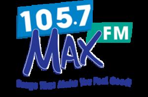 XHPRS-FM - Image: XHPRS 105.7 MAX FM logo