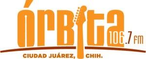 XHUAR-FM - Image: XHUAR orbita 106.7 logo
