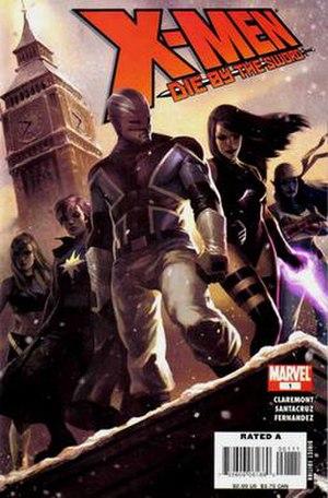 X-Men: Die by the Sword - Image: X Men Die By The Sword 01 cover