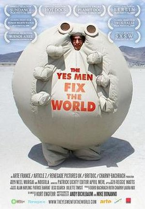 The Yes Men Fix the World - Promotional film poster