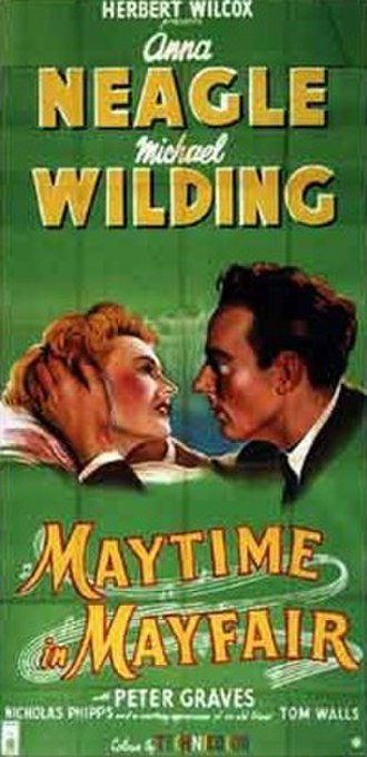Maytime in Mayfair - Film poster