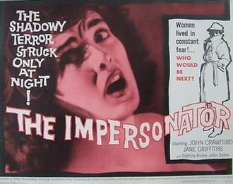 The Impersonator - Theatrical poster for 1962 continental release