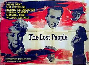 The Lost People - British quad poster