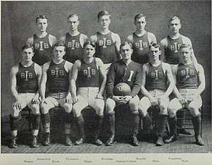 1907–08 Illinois Fighting Illini men's basketball team - Image: 1907 Fighting Illini men's basketball team