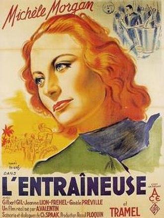 Nightclub Hostess - Image: 1940 L Entraineuse poster