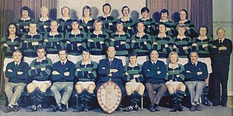 South Canterbury Rugby Football Union - 1974 South Canterbury Team