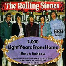The Rolling Stones - 2000 Light Years From Home Lyrics ...