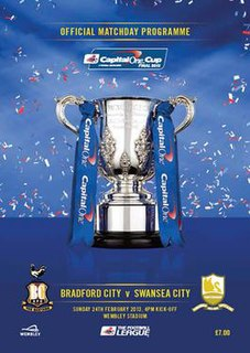 2013 Football League Cup Final association football match