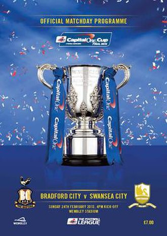 2013 Football League Cup Final - Image: 2013 League Cup cover