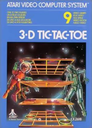 3D tic-tac-toe - Image: 3dtictactoe