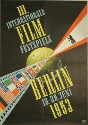 3rd Berlin International Film Festival - Festival poster