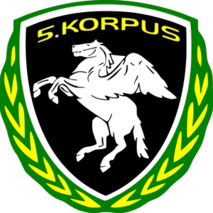 V Corps (Bosnia and Herzegovina) - Image: 5th Corps Army of RBIH logo