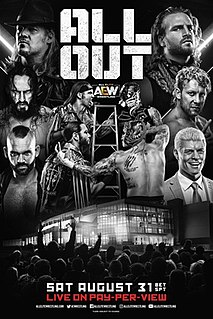 All Out (2019) 2019 All Elite Wrestling event