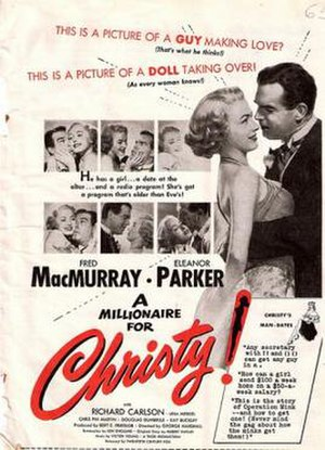 A Millionaire for Christy - Film poster