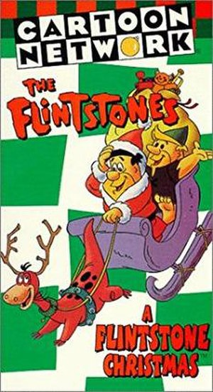 A Flintstone Christmas - VHS cover