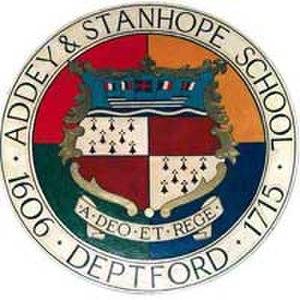 Addey and Stanhope School - Image: Addey logo
